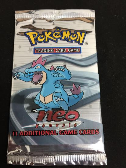 Pokemon Neo Genesis 11 Card Booster Pack - SEE DESCRIPTION