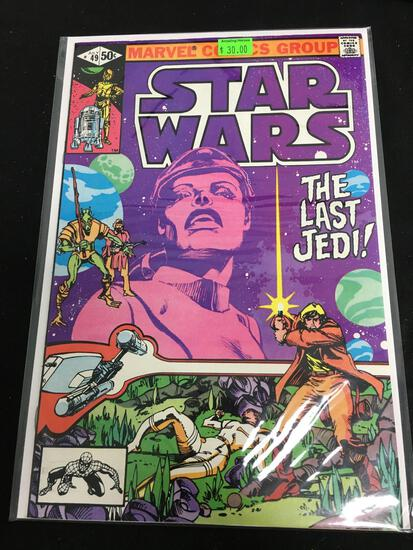 Star Wars #49 Comic Book from Amazing Collection