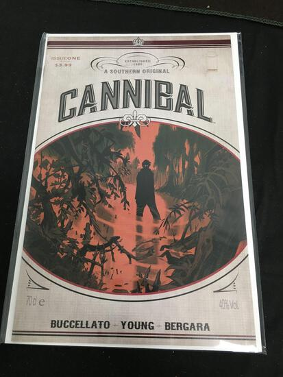 Cannibal #1 Comic Book from Amazing Collection
