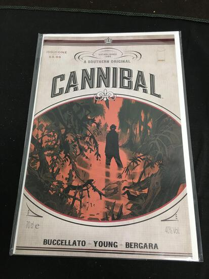 Cannibal #1 Comic Book from Amazing Collection B