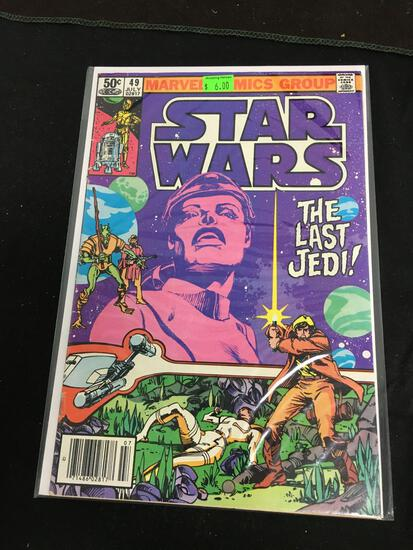 Star Wars #49 Comic Book from Amazing Collection B