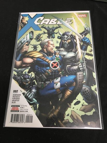 Cable #2 Comic Book from Amazing Collection B