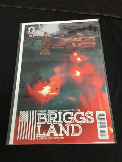 Briggs Land #3 Comic Book from Amazing Collection