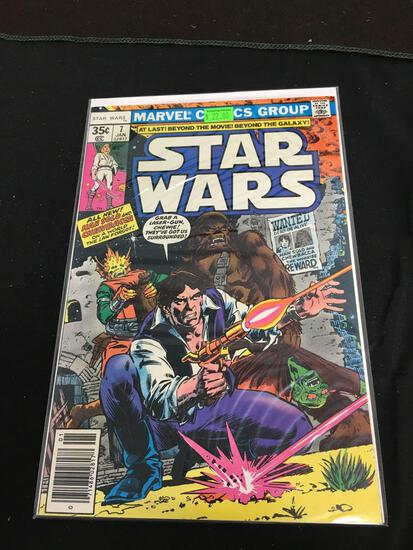 Star Wars #7 Comic Book from Amazing Collection