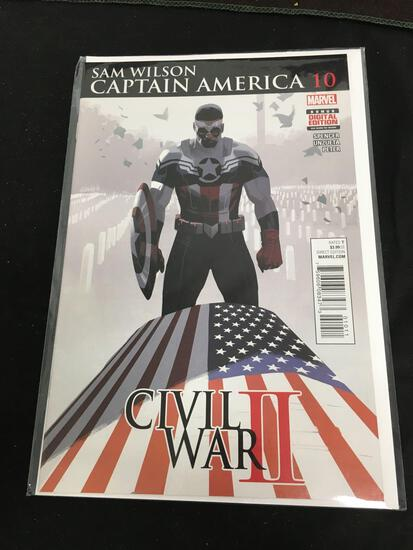 Sam Wilson Captain America #10 Comic Book from Amazing Collection