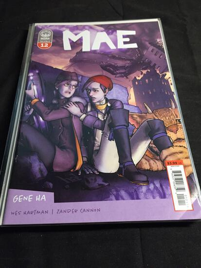 Mae #12 Comic Book from Amazing Collection
