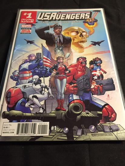 USAvengers #1 Comic Book from Amazing Collection