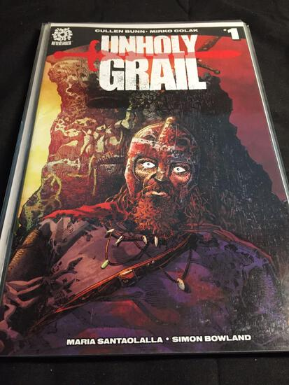 Unholy Grail #1 Comic Book from Amazing Collection