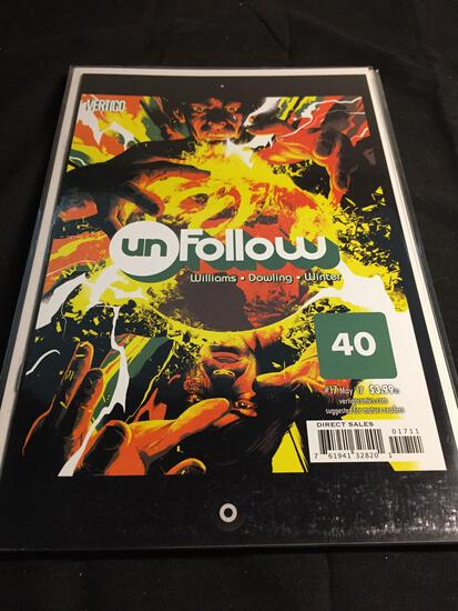 Unfollow #17 Comic Book from Amazing Collection