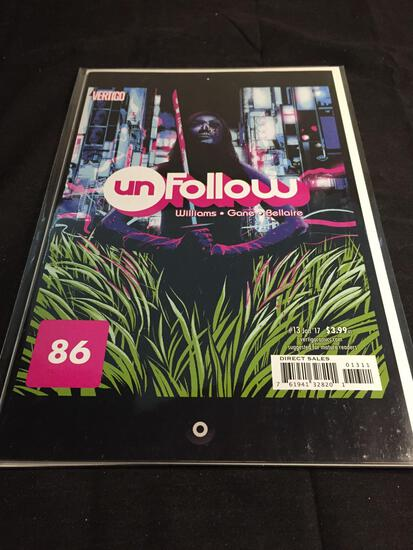 Unfollow #13 Comic Book from Amazing Collection