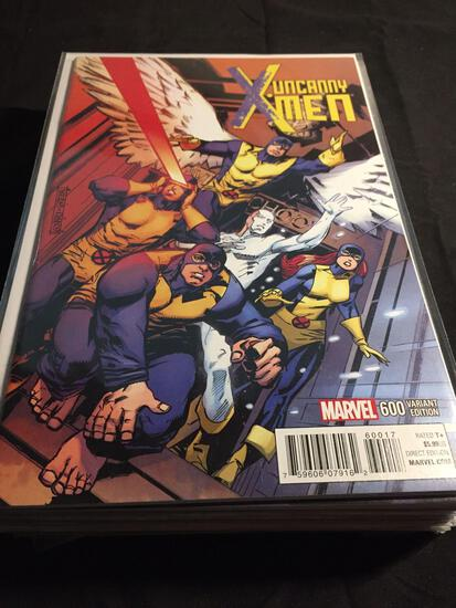 Uncanny X-Men #600 Variant Edition Comic Book from Amazing Collection