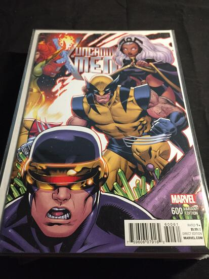 Uncanny X-Men #600 Variant Edition B Comic Book from Amazing Collection