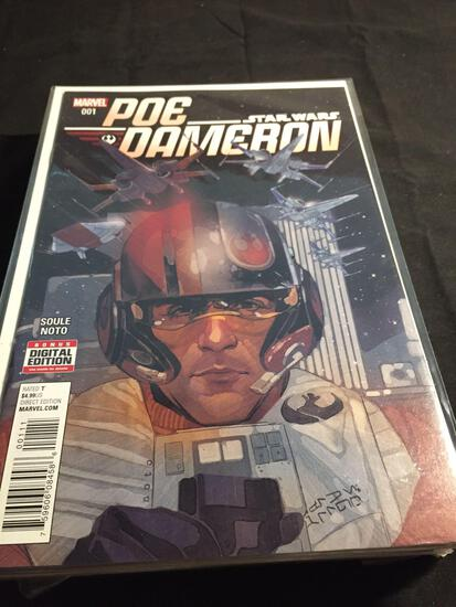 Poe Dameron #1 Comic Book from Amazing Collection