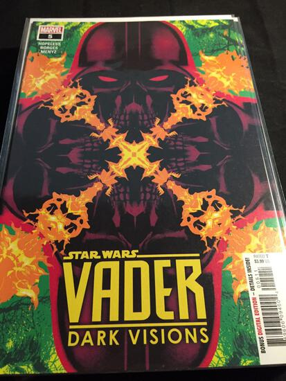 Vader Dark Visions #5 Comic Book from Amazing Collection