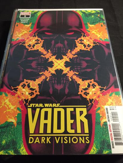 Vader Dark Visions #5 Comic Book from Amazing Collection B