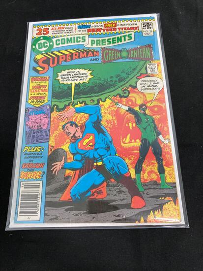 DC Comics Presents Superman And Green Lantern #26-Comic Book