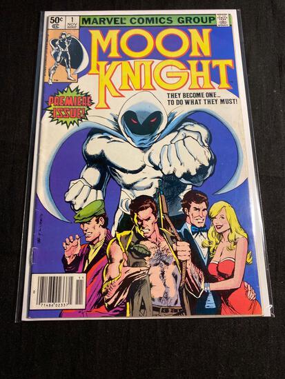 Marvel, Moon Knight #1-Comic Book