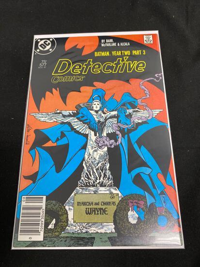 DC Comics, Detective Comics Batman Year Two Part 3 #577 B-Comic Book