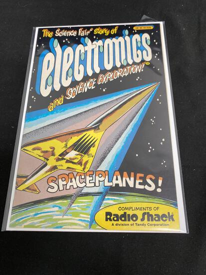 Radio Shack, The Science Fair Story Of Electronics And Science Exploration! Spaceplanes!-Comic Book