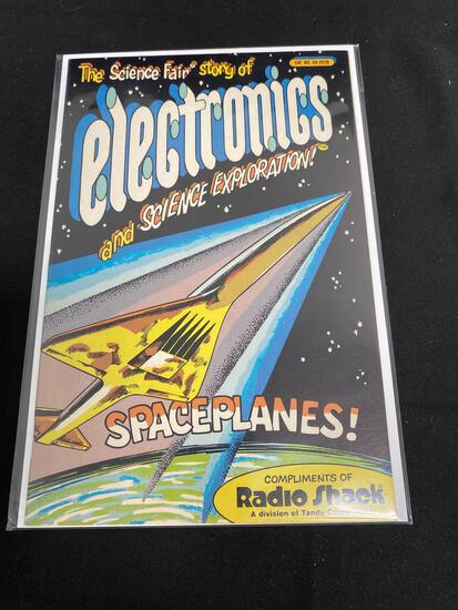 Radio Shack, The Science Fair Story Of Electronics And Science Exploration! Spaceplanes! B-Comic