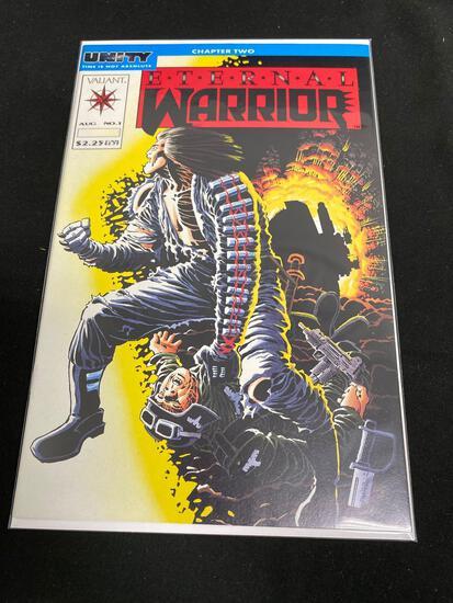 Valiant, Eternal Warrior #1-Comic Book
