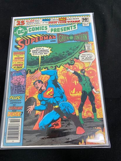 DC Comics Presents Superman And Green Lantern #26 B-Comic Book