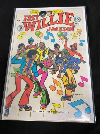Fitzgerald Periodicals, Fast Willie Jackson #1-Comic Book