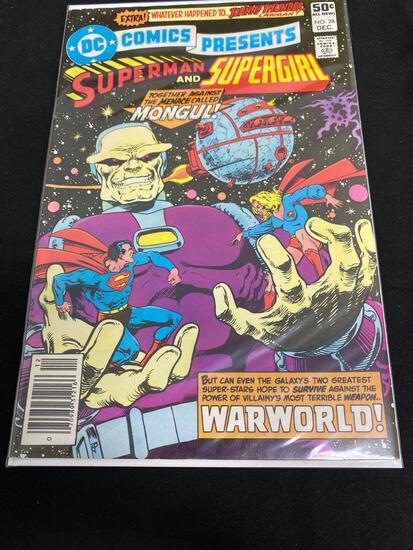DC Comics Presents Superman And Supergirl #28-Comic Book
