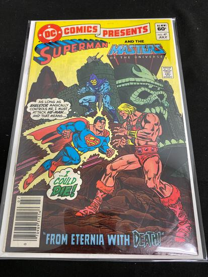 DC Comics Presents Superman And The Masters Of The Universe #47-Comic Book
