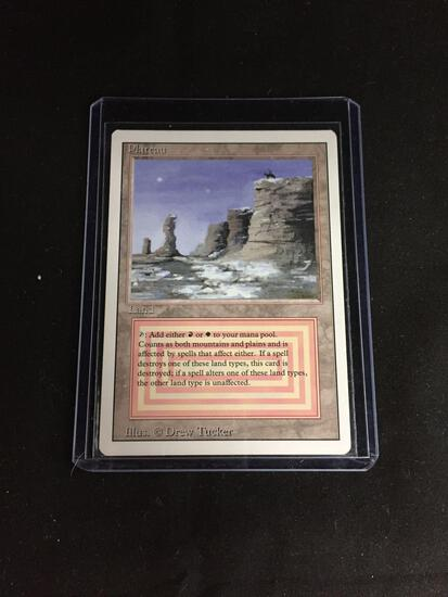 Magic the Gathering PLATEAU Revised Dual Land Trading Card