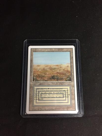 Magic the Gathering SCRUBLAND Revised Dual Land Trading Card