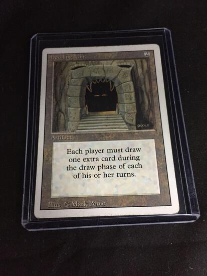 Magic the Gathering HOWLING MINE Revised Vintage Trading Card