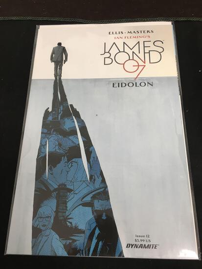 James Bond 007 Eidolon #12 Comic Book from Amazing Collection