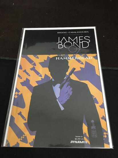 James Bond 007 Hammerhead #6 Comic Book from Amazing Collection B