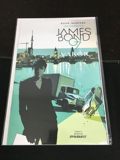 James Bond 007 Vargr #2 Comic Book from Amazing Collection