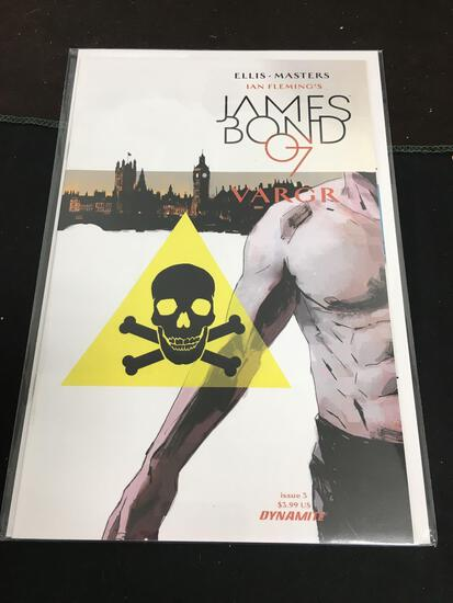 James Bond 007 Vargr #3 Comic Book from Amazing Collection
