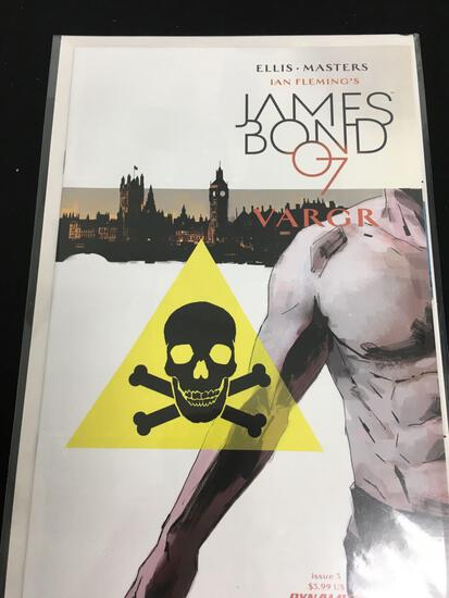 James Bond 007 Vargr #3 Comic Book from Amazing Collection B