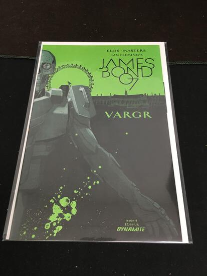 James Bond 007 Vargr #4 Comic Book from Amazing Collection