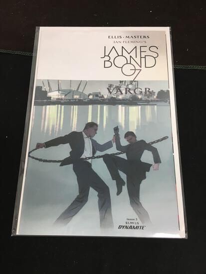 James Bond 007 Vargr #5 Comic Book from Amazing Collection