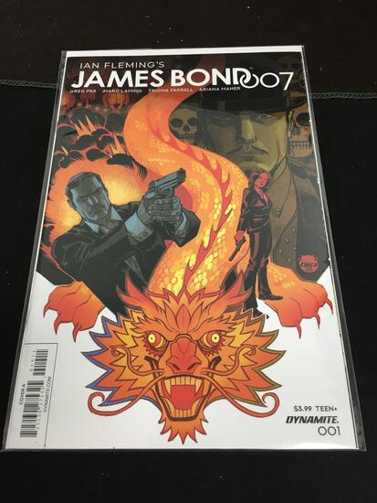James Bond 007 #1 Comic Book from Amazing Collection