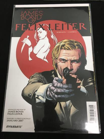 James Bond 007 Felix Leiter Advanced Preview Comic Book from Amazing Collection