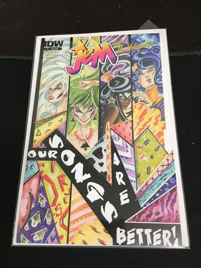Jem and The Holograms #3 Sub Cover Comic Book from Amazing Collection
