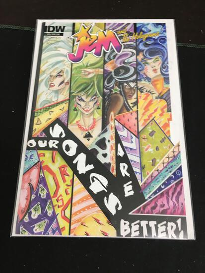 Jem and The Holograms #3 Sub Cover Comic Book from Amazing Collection B