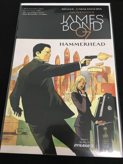 James Bond 007 Hammerhead #1 Comic Book from Amazing Collection