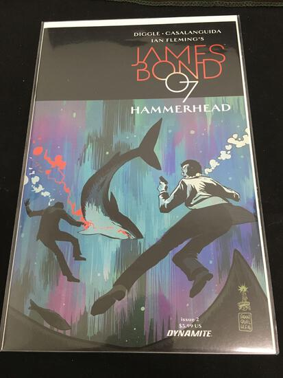 James Bond 007 Hammerhead #2 Comic Book from Amazing Collection