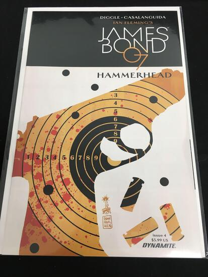 James Bond 007 Hammerhead #4 Comic Book from Amazing Collection