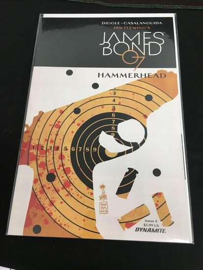 James Bond 007 Hammerhead #4 Comic Book from Amazing Collection B