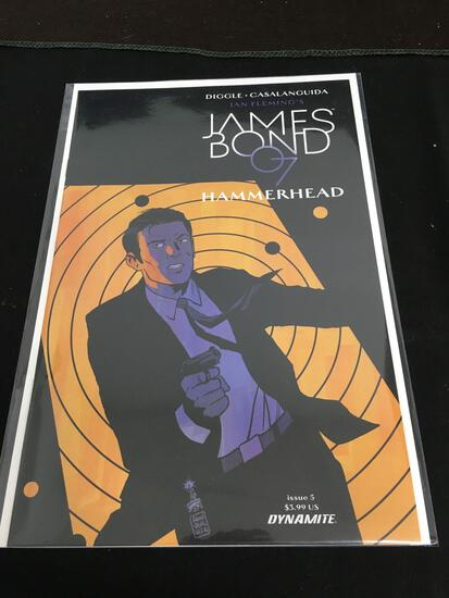 James Bond 007 Hammerhead #5 Comic Book from Amazing Collection