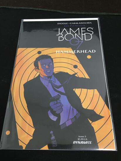 James Bond 007 Hammerhead #5 Comic Book from Amazing Collection B