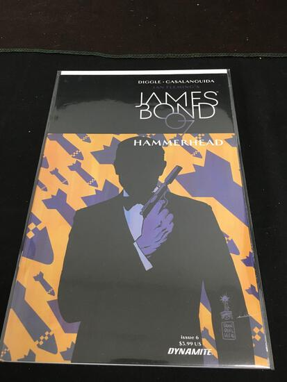 James Bond 007 Hammerhead #6 Comic Book from Amazing Collection